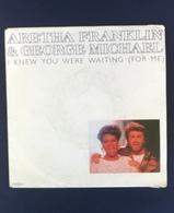 45 Giri - Aretha Franklin E George Michael - I Knew You Were Waiting (For Me) - 45 Rpm - Maxi-Single
