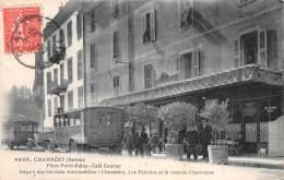 Départ Des Services Automobiles - Place Porte Reine - Chambery