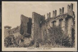 LOMBARDIA - ANGERA (VA) - IL CASTELLO - EDIZ.BROVELLI - FORMATO PICCOLO - VIAGGIATA 1937 - Italia