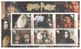 Foglietto Francobolli - Harry Potter - Cinema