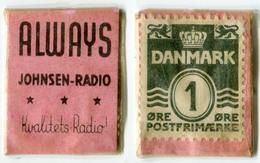N93-0506 - Timbre-monnaie - Danemark - Denmark - Always - 1 Ore - Kapselgeld - Encased Stamp - Monetary /of Necessity