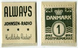 N93-0507 - Timbre-monnaie - Danemark - Denmark - Always - 1 Ore - Kapselgeld - Encased Stamp - Monetary /of Necessity