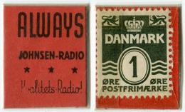 N93-0508 - Timbre-monnaie - Danemark - Denmark - Always - 1 Ore - Kapselgeld - Encased Stamp - Monetary /of Necessity