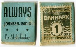 N93-0509 - Timbre-monnaie - Danemark - Denmark - Always - 1 Ore - Kapselgeld - Encased Stamp - Monétaires / De Nécessité