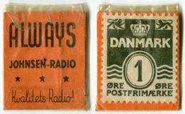 N93-0510 - Timbre-monnaie - Danemark - Denmark - Always - 1 Ore - Kapselgeld - Encased Stamp - Monetary /of Necessity
