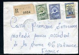 Algérie - Enveloppe En Recommandé De Constantine Pour La France En 1971 - Ref J43 - Algérie (1962-...)