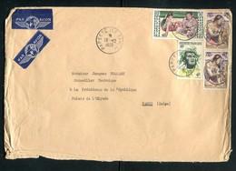Polynésie - Enveloppe De Papeete Pour Le Palais De L 'Elysée En 1959 - Ref J56 - French Polynesia