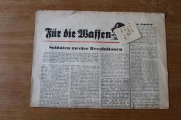 Journal  Fur Die Waffen XX  Soldats Mort En Farnce Mai 1940 - 1939-45