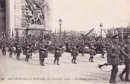 LES FETES DE LA VICTOIRE, 14 JUILLET 1919 - La Musique Ecossaise - Patriotiques