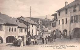 Place Du Marché - Alby-sur-Cheran