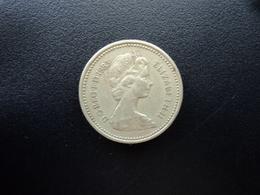 ROYAUME UNI : 1 POUND  1983  Tranche A *   KM 933    TTB - 1971-… : Monnaies Décimales