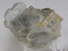 FLUORINE LEGER BLEUE  4, X 3,CM MARSANGES MINE - Mineralien
