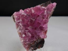 COBALTO CALCITE  4,5 X 3,5 CM BOU AZZER - Minéraux
