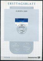 "Germany,Bund 2009 ETB 15/2009 Mi.Nr.2732 ""EUROPA-Astronomie,Keplerschen Gesetze"" 1 Big ETB - Astrologie"