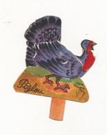 Carton à Système Tirette    BENJAMIN RABIER - Piglou - Dindon  -  Publicité  BEL Pourl Album Vache Qui Rit - Chromos