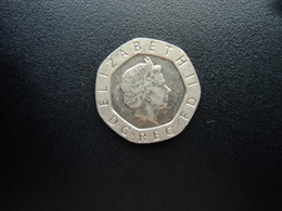 ROYAUME UNI : 20 PENCE  2001    KM 990       SUP+ - 1971-… : Monnaies Décimales