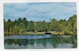 USA - AK 327510 NH - Concord - St. Paul's School - View Over Library Pond ... - Concord