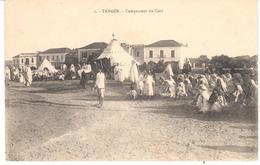 POSTAL   TANGER  -MARRUECOS  - CAMPEMENT DU CAÏD  (CAMPAMENTO DE CAÏD) - Tanger