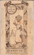 Programme Prades ( 66 ) - Théâtre De Plein Air - 1909 - Programs