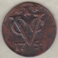 NETHERLANDS EAST INDIES / ZEELAND .1 DUIT 1754 VOC - [ 4] Colonies