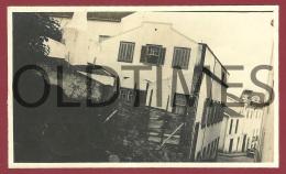 PORTUGAL - AÇORES - HORTA - DERROCADA CAUSADA PELO TERRAMOTO - 1926 REAL PHOTO - Photos