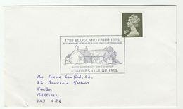 1988 ELLISLAND FARM  Robert Burns EVENT COVER Dumfries GB Stamps Poetry Literature - 1952-.... (Elizabeth II)