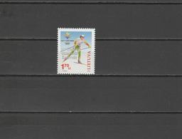 Lithuania 2002 Olympic Games Salt Lake City Stamp MNH - Winter 2002: Salt Lake City