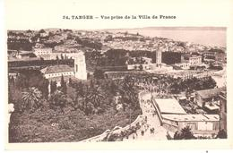 POSTAL   TANGER  -MARRUECOS   -VUE PRISE DE LA VILLE DE FRANCE ( VISTA DESDE EL HOTEL LA VILLA DE FRANCE) - Tanger