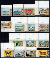 D0239 KIRIBATI 1979,  First Definitive Set,  MNH With Nice Margins - Kiribati (1979-...)