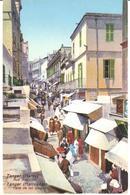 POSTAL   TANGER  -MARRUECOS   -RUE SIAGUINE  (CALLE DE LOS SIAGUIN)) - Tanger