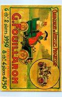 Publicité - G. Fouillaron - Levallois Perret - Aumobile - Changement De Vitesses Progressif - Cartes Postales