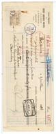 CHEQUE-1914- MANDAT DU CREDIT AGRICOLE MUTUEL BORDEAUX-VOIR TIMBRE ET CACHETS- - Cheques & Traveler's Cheques
