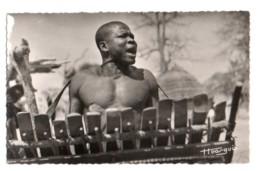 Tchad 019, AEF, Librairie Au Messager 110, Joueur De Balafon - Tschad
