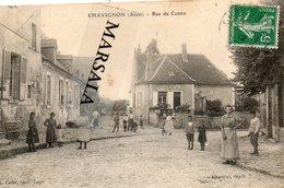 CPA  Chavignon   Rue Du Centre - Andere Gemeenten