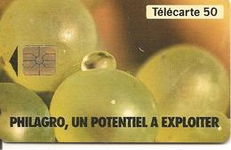 CARTE-PUCE-PRIVEE-PUBLIC- 50U-EN 854-GEMA-12/93-PHILAGRO RAISON-R°Brillant-V°Pt Bordure Junie-UTILISE-TBE - 50 Einheiten