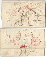 AR176) GRAN BRETAGNA - London To France - 1827 - Re-directed In France - Gran Bretagna