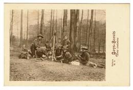 B.P. Belgian Boy-Scouts - N°1 - Une Cuisine - Collection M.D. - Scoutisme - 2 Scans - Scoutisme