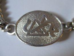 Braccialetto In Argento 31 Grammi Due Triangoli Simbolo - Bracelets