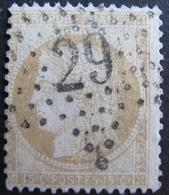 LOT R1749/191 - CERES N°59 - ETOILE De PARIS N°29 - Cote : 33,00 € - 1871-1875 Cérès