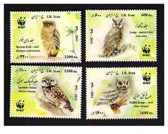 2011 - Wwf Owls Set  MNH - Iran - Owls