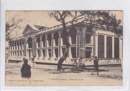 DAKAR, SENEGAL. PALAIS DE JUSTICE. COLECTION FORTIER. CICULEE TO ARGENTINE. CIRCA 1900's.- BLEUP - Senegal