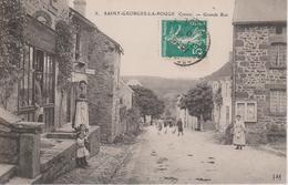 23 - ST GEORGES LA POUGE - GRANDE RUE - France