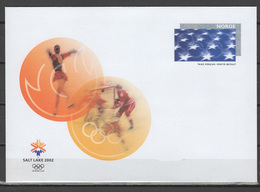 Norway 2002 Olympic Games Salt Lake City Commemorative Cover - Winter 2002: Salt Lake City