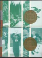 Norway 2002 Olympic Games Salt Lake City 2 Commemorative Postcards - Winter 2002: Salt Lake City