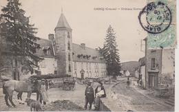 23 - CROCQ - CHATEAU CORNUDET - Francia