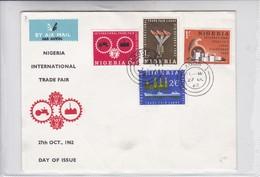 FDC. NIGERIA INTERNATIONAL TRADE FAIR. OBLITERE LAGOS 1962- BLEUP - Niger (1960-...)