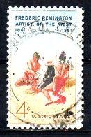 USA. N°718 Oblitéré De 1961. Le Signal De Fumée. - American Indians