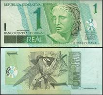 Brazil. 1 Real (Unc) 2003. Banknote Cat# P.251a [DLC.BN00776] - Brésil