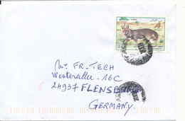 Algeria Cover Sent To Germany 16-4-2007 Single Stamped - Algeria (1962-...)