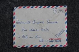 Lettre En F.M Du Secteur Postal 87254, Cavalier Jean ANDRE Du 7ème Escadron Vers L'ISLE SUR TARN - Marcofilia (sobres)